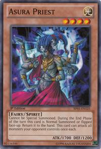 YuGiOh! TCG karta: Asura Priest