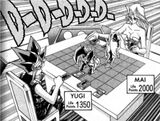 Dark Yugi and Mai Kujaku's Duel (manga)