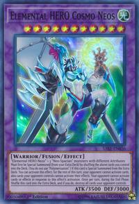 YuGiOh! TCG karta: Elemental HERO Cosmo Neos