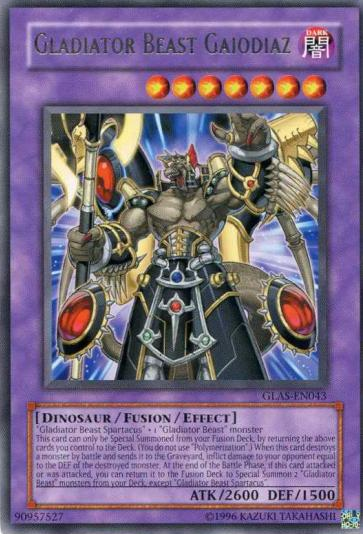 Essedarii Bestiari Yugioh Gladiator Beast Deck Hero Darius