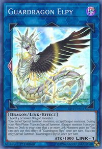 YuGiOh! TCG karta: Guardragon Elpy