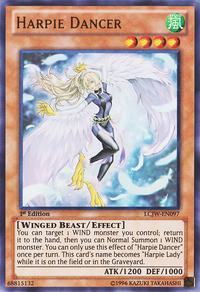 YuGiOh! TCG karta: Harpie Dancer