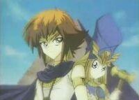 Pharaoh Atem and Priest Seto Cosplay