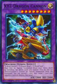 YuGiOh! TCG karta: XYZ-Dragon Cannon