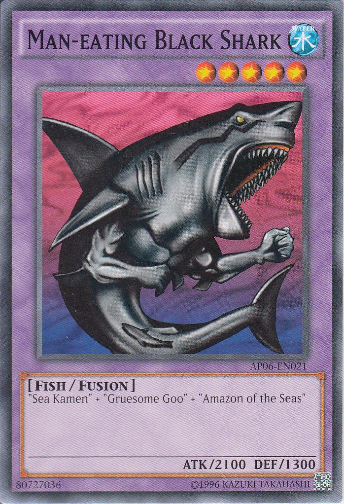 Man Eating Black Shark Yu Gi Oh Fandom Powered By Wikia