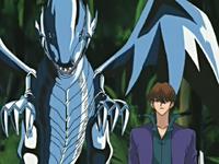 Virtual Kaiba and Blue-Eyes White Dragon