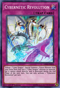 YuGiOh! TCG karta: Cybernetic Revolution