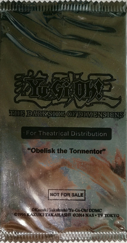 Yu-Gi-Oh! The Dark Side of Dimensions Theater distribution cards