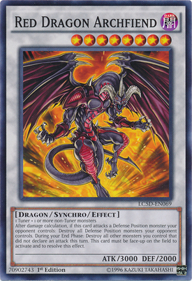 Red Dragon Archfiend LC5D