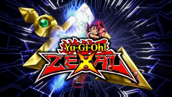 4Kids English Yu-Gi-Oh! ZEXAL intro screen