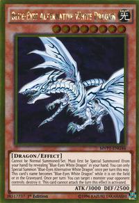 YuGiOh! TCG karta: Blue-Eyes Alternative White Dragon