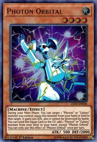 YuGiOh! TCG karta: Photon Orbital