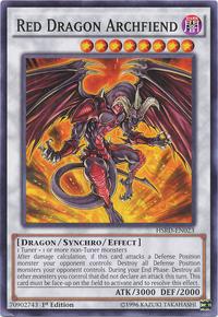 YuGiOh! TCG karta: Red Dragon Archfiend