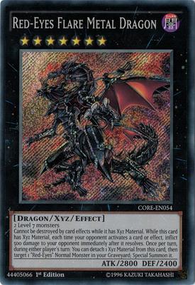 RedEyes Flare Metal Dragon CORE