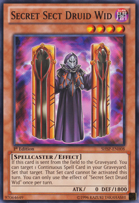 Secret Sect Druid Wid SHSP