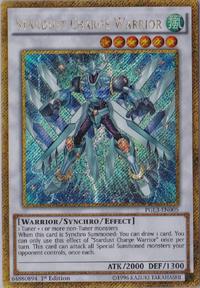YuGiOh! TCG karta: Stardust Charge Warrior