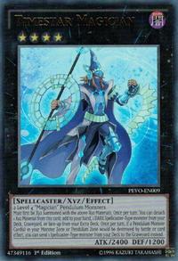 YuGiOh! TCG karta: Timestar Magician