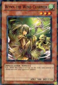 YuGiOh! TCG karta: Wynn the Wind Charmer