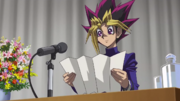 Yugi's graduation speech