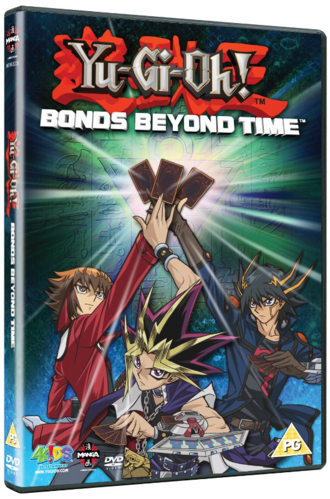 Yu-Gi-Oh! 3D Bonds Beyond Time DVD promotional card