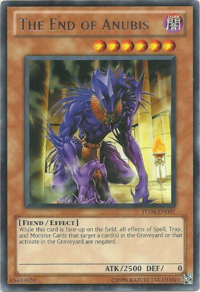 YuGiOh! TCG karta: The End of Anubis