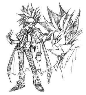 Yuto Manga Concept Art