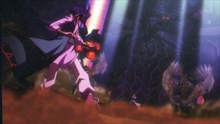 Aigami and Kaiba Dueling