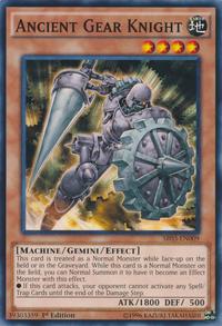 YuGiOh! TCG karta: Ancient Gear Knight