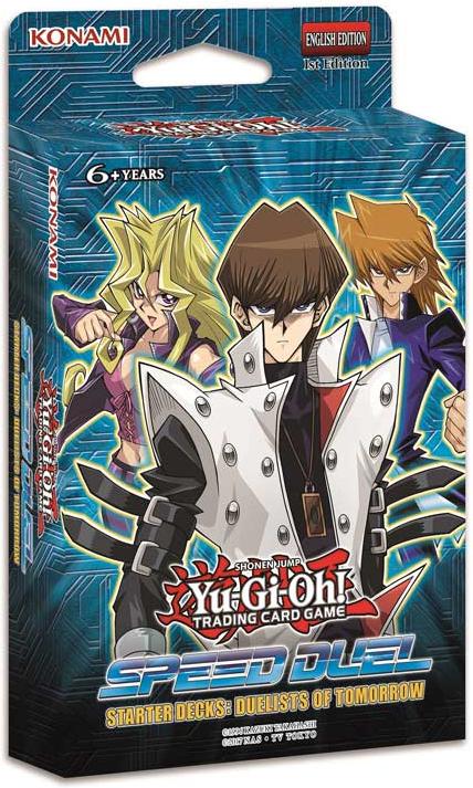 Speed Duel Destiny Master//Duelists of Tomorrow Starter Deck Yu-Gi-Oh ... TCG