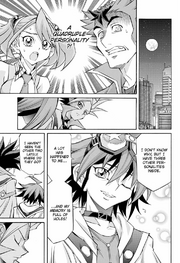Yuya states he has four personalities