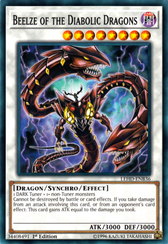 Beelze of the Diabolic Dragons | Yu-Gi-Oh! Wiki | Fandom