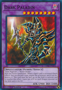 YuGiOh! TCG karta: Dark Paladin