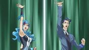 Akira and Blue Maiden Link Summon