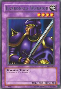 YuGiOh! TCG karta: Karbonala Warrior