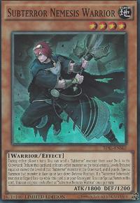 YuGiOh! TCG karta: Subterror Nemesis Warrior