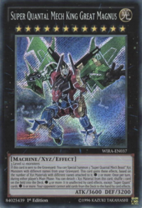 YuGiOh! TCG karta: Super Quantal Mech King Great Magnus