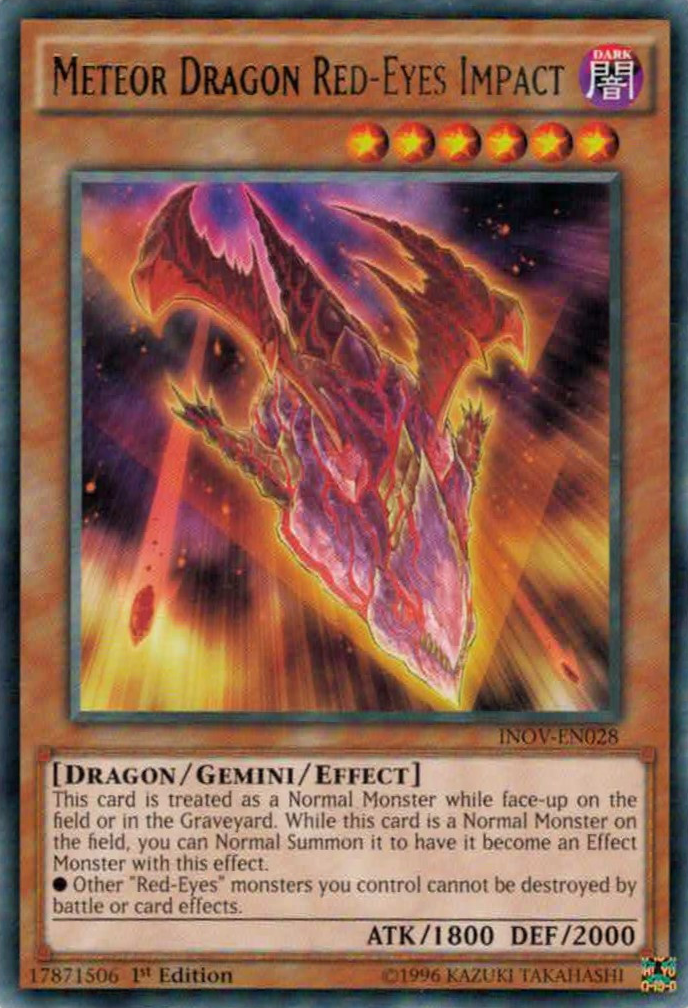 Meteor Dragon Red-Eyes Impact | Yu-Gi-Oh! | FANDOM powered