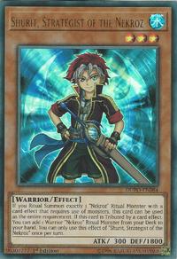 YuGiOh! TCG karta: Shurit, Strategist of the Nekroz