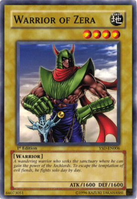 Warrior of Zera YSD
