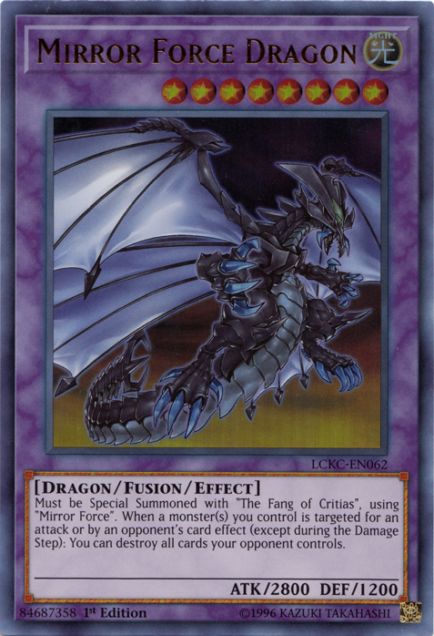 Mirror Force Dragon | Yu-Gi-Oh! Wiki | Fandom