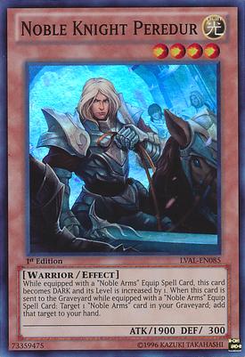 Noble Knight Peredur LVAL