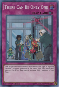 YuGiOh! TCG karta: There Can Be Only One