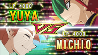 Yuya VS Michio Mokota
