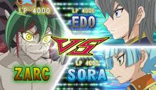 Zarc VS Aster & Sora