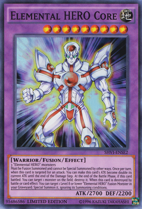 Elemental Hero Core Yu Gi Oh Fandom Powered By Wikia