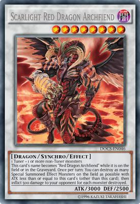 Scarlight Red Dragon Archfiend DOCS