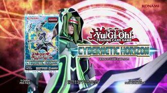 Yugioh Konami Commercial Cybernetic Horizon TCG