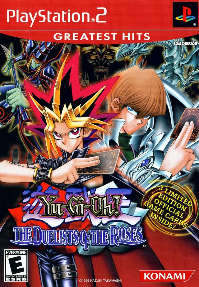 yu-gi-oh duelists of the roses ps2