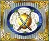 White rose emblem