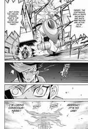 Yugo loses his consciousness
